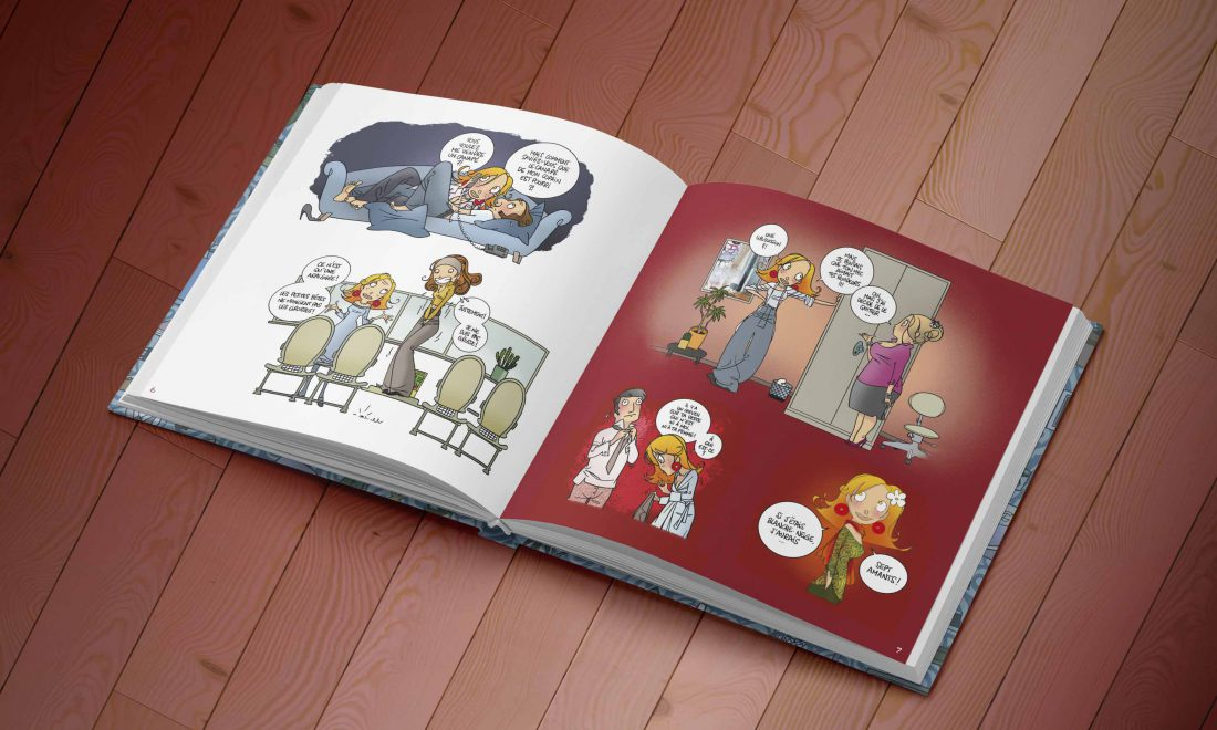 graphisme-mise en page-bande dessinée