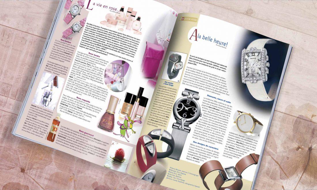 marie-claire beauté montres