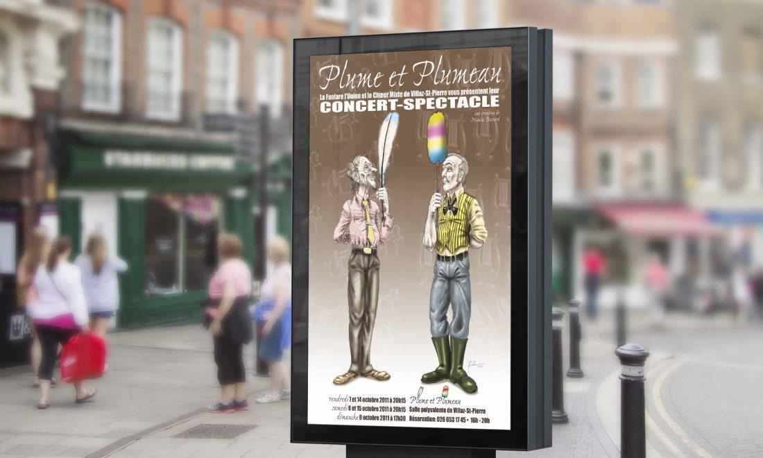 affiche concert spectacle villaz-saint-pierre