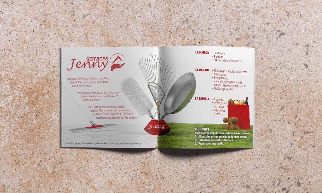 jenny services dépliant promo